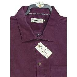 BAR HARBOUR Corded Casual  Shirt WINE