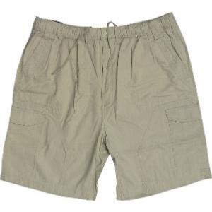 ESPIONAGE Ripstop Cotton Cargo Shorts STONE