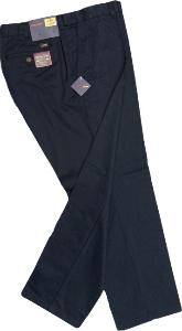 OAKMAN Active Flexi- Waist Cotton Twill Chinos DARK NAVY