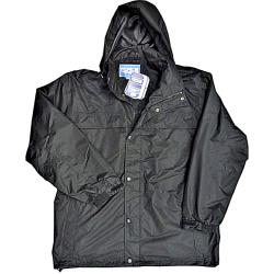 FORCE NINE Waterproof  Windproof Jacket BLACK
