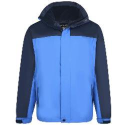 KAM Showerproof Jacket with Hood ROYAL/NAVY