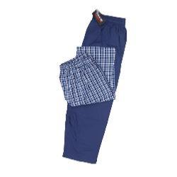 ESPIONAGE BIG MENS TWIN PACK WOVEN PYJAMA TROUSER