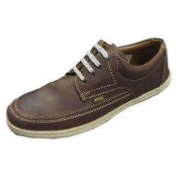 POD Casual Leather Lace Up HUDSON BROWN
