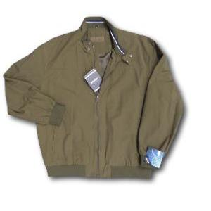 SAXON Showerproof Casual Lightweight Bomber Jacket KHAKI 3XL