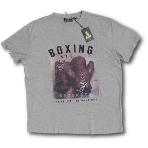 REPLIKA Tee Shirt BOXING GREY MARL 3XL
