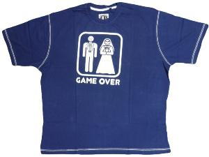 HAFT Printed Tee GAME OVER 2XL