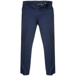 "D555 Stretch Chino Pant with Xtenda Comfort Waist NAVY 42 - 60"" S/R"