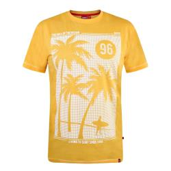 D555 SURF PRINT TEE KANSAS ORANGE