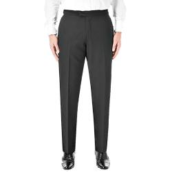 "SKOPES Dinner Suit Trousers LATIMER BLACK 44 - 66"" S/R"