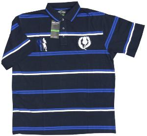 Cotton Rich King Size Rugby Polo SCOTLAND 2XL