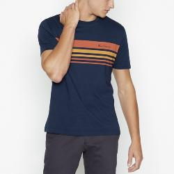 SALE - BEN SHERMAN SPORT TIPPED CHEST STRIPED TEE DARK NAVY 2 - 3XL