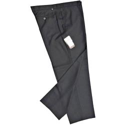 FARAH Wool Blend Trousers BLACK