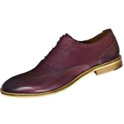 POD - PAUL O'DONNELL Finest Leather Brogue lace up  DALLAS BORDEAUX 13 - 15 UK