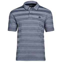 RAGING BULL BIRDSEYE STRIPE  POLO NAVY 3 - 6XL