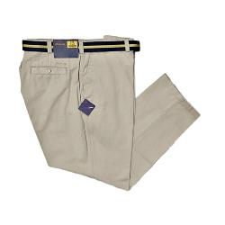 OAKMAN Casual Cotton Twill Soft touch Chino STONE