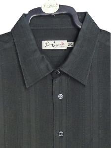 BAR HARBOUR  Woven Polymodal Shirt BLACK