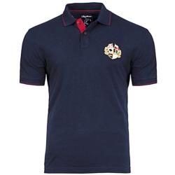 RAGING BULL CREST PIQUE POLO NAVY 3 - 6XL