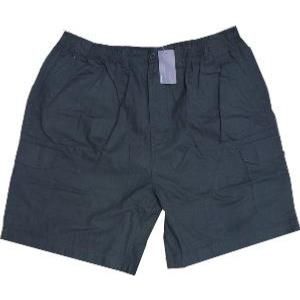 ESPIONAGE Ripstop Cotton Cargo Shorts NAVY 8XL