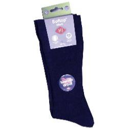 HJ HALL The Original Soft Top Wool sock NAVY