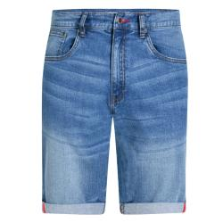 D555 STRETCH DENIM  SHORTS  STONEWASH GRIFFIN 42 - 56""