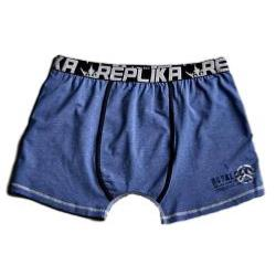 REPLIKA JEANS Fashion Trunks BLUE  2 - 6XL