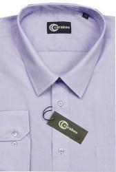CARABOU Easy Care Long Sleeve Plain Shirt LAVENDER