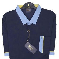 2ebc9c2c GABICCI Designer Vintage Classic Polo shirt NAVY 3 - 5XL