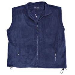METAPHOR ZIP FLEECE  BODY WARMER NAVY 2 - 8XL
