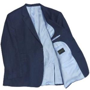 HUGO JAMES Linen mix Jacket NAVY