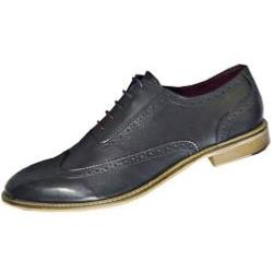 POD - PAUL O'DONNELL Finest Leather Brogue lace up  DALLAS NAVY
