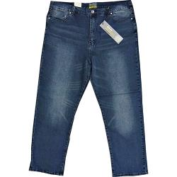 KAM Stretch Distressed Jean DARK WASH ARON