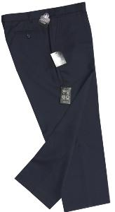 Skopes Plain Front Wool twill trouser TITAN NAVY