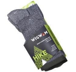 WIGWAM  MERINO COMFORT HIKER LITE SOCK CHARCOAL 12-14 UK