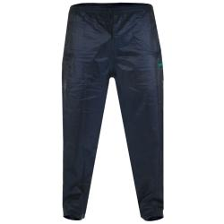 D555 King Size  PACKAWAY WATERPROOF BREATHABLE  OVER TROUSERS ELBA  NAVY 3 - 6XL