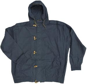 METAPHOR  Cotton Jacket with Hood NAVY 8xl