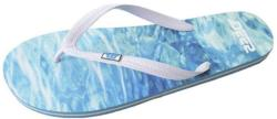 D555 Men's Rubber Flip Flops  MALIBU BLUE