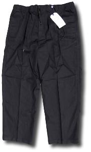 PEGASUS Cotton Comfort waist rugby  trousers BLACK 2XL REGULAR