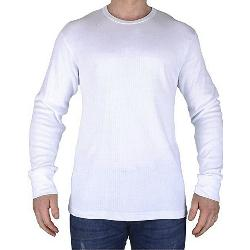 KAM Thermal Long sleeve T-Shirt  WHITE 2 - 8XL