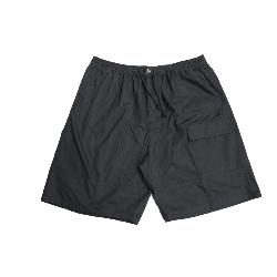 METAPHOR LIGHTWEIGHT COTTON RUGBY SHORTS WITH CARGO POCKET BLACK 2XL - 8XL