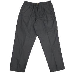 METAPHOR LIGHTWEIGHT COTTON RUGBY TROUSERS WITH CARGO POCKET BLACK 2XL - 8XL