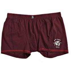 NORTH 56'4 JERSEY STRETCH TRUNKS  BORDEAUX 2 - 5XL