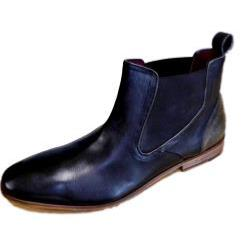 POD - PAUL O'DONNELL Finest Leather Chelsea Boot PHOENIX BLACK