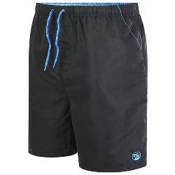 ESPIONAGE Plain Swim Short BLACK 2 - 8XL