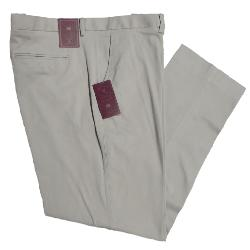 "SKOPES Classic Cotton Casual Chinos with Active Stretch Comfort Waist  CLOVELLY STONE 44 - 62"" S/R"
