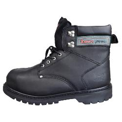 TOMCAT STEEL TOE CAP GOODYEAR WELTED SAFETY BOOT WITH STEEL MIDSOLE - BLACK 13 UK