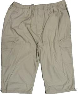 ESPIONAGE 3/4 Cropped Active Leisure Cargo trousers STONE 2XL