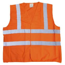 HI VIS VEST ORANGE 3 - 6XL