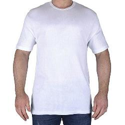 SALE - KAM Thermal King Size Short sleeve T-Shirt WHITE 2XL