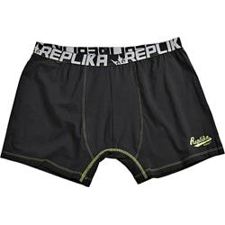 REPLIKA JEANS Fashion Trunks with Contrast Stitch detail BLACK