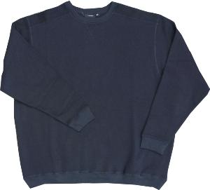 ESPIONAGE Big Men's Crew neck Sweatshirt NAVY 2 - 8XL